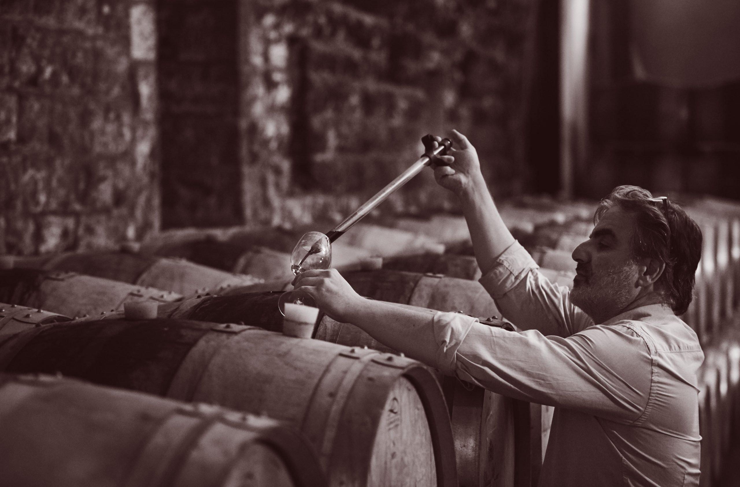 Tarek Sakr, wiinemaker, Chateau Musar, Lebanon, Ghazir, Wine tasting